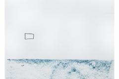 bez tytułu, 2019, kredka na papierze 20x20 cm