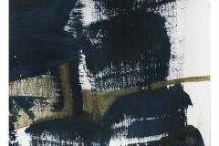 bez tytułu, 2019, kredka, akryl na papierze 20x20 cm